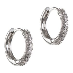 CZ BY KENNETH JAY LANE CZ Mini Hoop Earrings